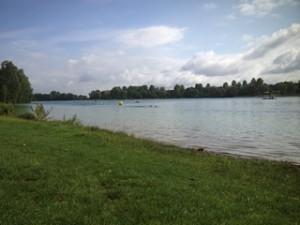 Ort des Geschehens, der Karlsfelder See!